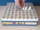 Передвижение фигурок в настольной игре Магниты: Битва / Magnets: Battle