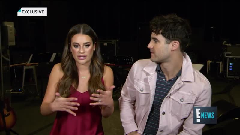 Lea Michele Darren Criss Are Best Friends on Tour _ E! News