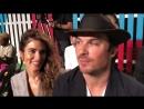 Интервью Никки и Йен Сомерхолдер на показе «Escada» для портала «Associated Press» 09/09/18
