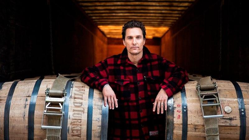 Wild Turkey Bourbon: Мэтью Макконахи