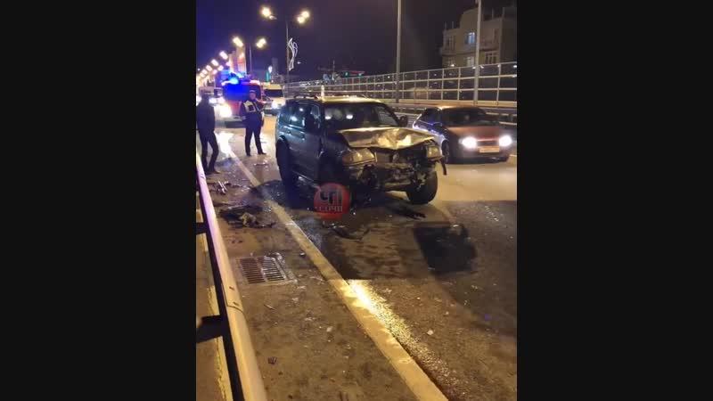 Авария в Адлерском районе