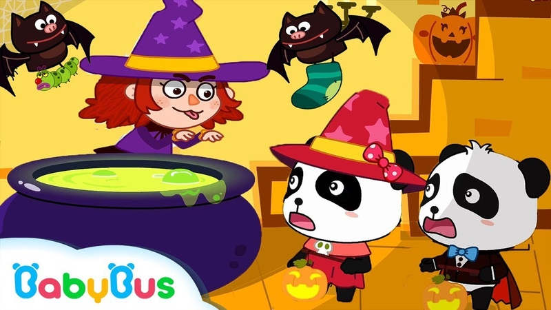 ★NEW★ハロウィンで魔女に変身!キッチンでお料理するよ! | 魔女のスー1