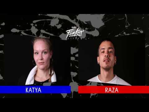SNIPES FUNKIN STYLEZ 2018 - HOUSE FINAL - KATYA vs. RAZA