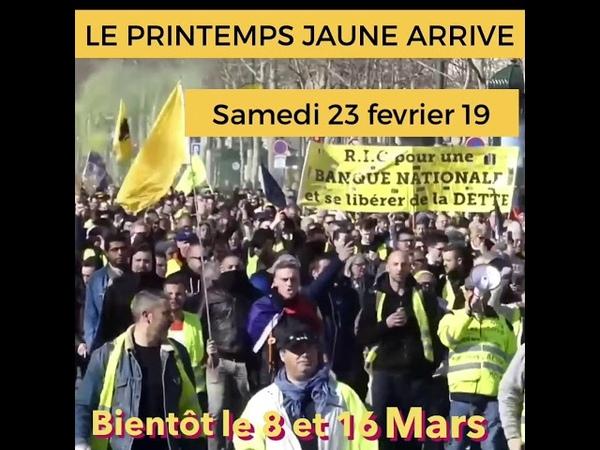 Images censurées de l'Acte 15 samedi 23 fevrier sur Paris du monde du monde