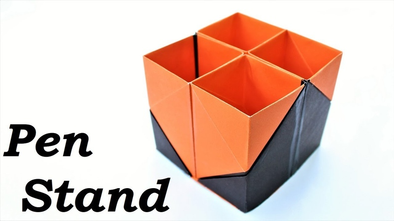 Craft Making | How to make pen stand with paper step by step | Pen Stand | | Paper Craft Ideas