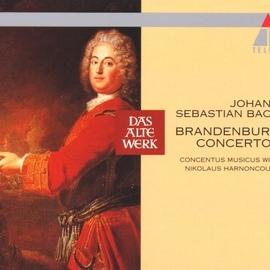Nikolaus Harnoncourt альбом Bach, JS : Brandenburg Concertos Nos 1 - 6 [1964]