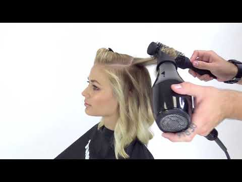 Style Menu   Boho Chic Blowout How-To (Blow-Dry Series)