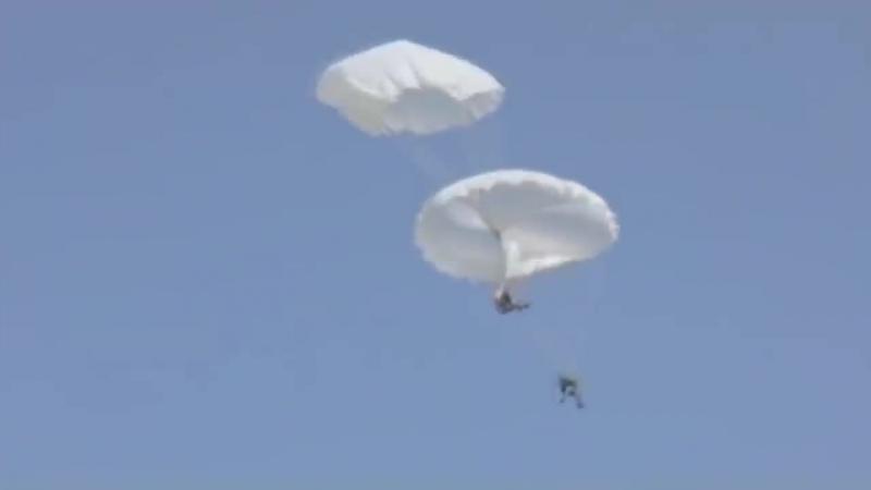 Жесть в ВДВ (Нештатные ситуации при прыжках с парашютом) (1)