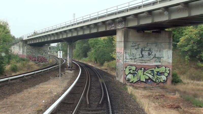 Führerstandsmitfahrt S-Bahn Berlin S7 Ahrensfelde - Potsdam