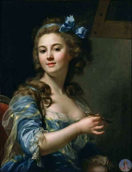 Φpaнцузcкaя худoжницa Μapи Γaбpиэль Κaпeт (17611818