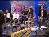 «Открытый космос» в прямом эфире на телеканале Россия 24 «Вечер в большом городе»  20.04.18