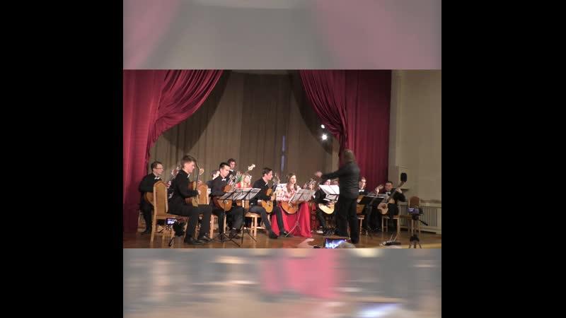 Музыка из к.ф. «Игрушка» в исполнении «Санкт-Петербургского гитарного оркестра»