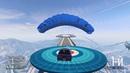 ГТА 5 онлайн. Каскадерская гонка с парашютом