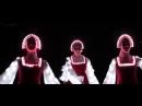 Русский народный танец в Сибири. Артисты светодиодного шоу