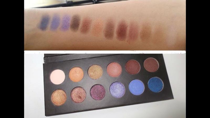 Itsjudytime Eyeshadow Palette Swatches!