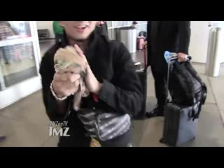 Lil Pump Walking Around With Completely Ripped Pants TMZ TV