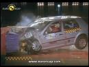 Euro NCAP _ VW Golf _ 1998 _ Crash test