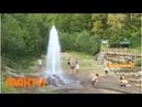 Живая вода на Закарпатье как доехать и свойства гейзера в селе Вучково