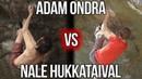 Adam Ondra VS Nalle Hukkataival - Gioia 8c   Rock Climbing Comparison
