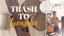 Trash to Treasure Video 5 - Home Decor Makeovers - Thrift Store Upcycle