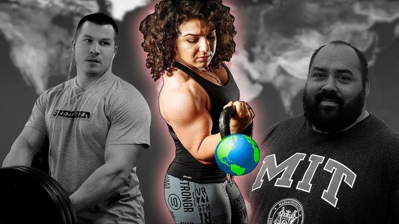 СИЛЬНЕЕ МУЖИКОВ! Поднимает Х10 своих весов! Самая сильная девушка Марианна Гаспарян