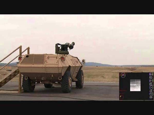 Textron TAPV (Tactical Armoured Patrol Vehicle) Javelin missile test - Lockheed Martin