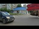 Оборванные электропровода на ул. Водопьянова