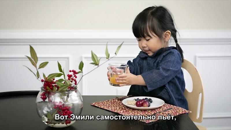 Домашняя Монтессори-среда для двоих детей разного возраста