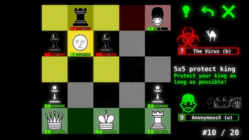 Hacker World War - Crazy Game Based on Chess