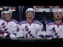 Marek Hrivik extra effort goal 4-1 Chicago Blackhawks vs NY Rangers 9_27_14