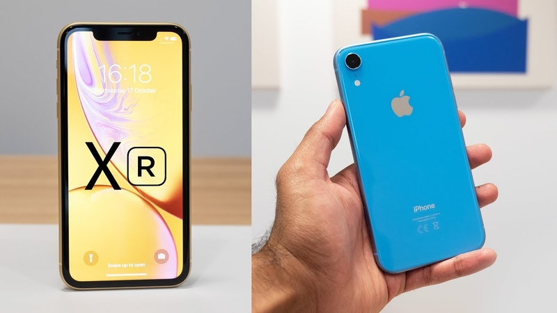 IPhone XR Hands On Early Look All Colors
