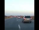 Серьезная авария на трассе в Беларуси видео с телефона