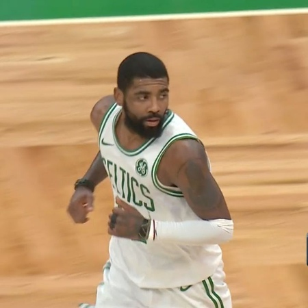 "Boston Celtics on Instagram: ""Kyrie capped off a 20-point third quarter (seriously) with this bucket! Go make this man an All-Star at Celtics.com/V..."