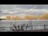 На реке Иртыш сверхразумы решили взорвать лёд.