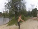 Научился с нуля делать заднее сальто за 20 минут )