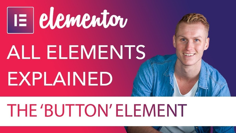 Button Element Tutorial | Elementor