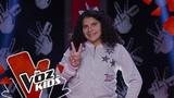 Gabi V canta Si Te Molesta Audiciones a Ciegas La Voz Kids Colombia 2019