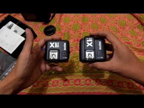 Review : trigger Godox X1 TTL HSS