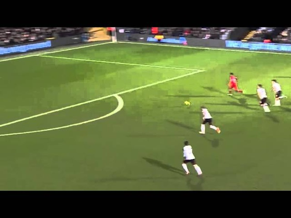 Gerrard Assist to Sturridge vs Fulham