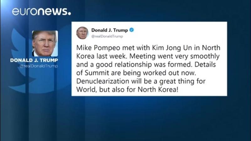 US-Präsident Donald Trump bestätigt via Twitter- CIA-Chef traf Machthaber Kim