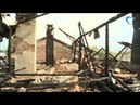 В Новгороде в очередной раз произошел пожар в заброшенном военном госпитале