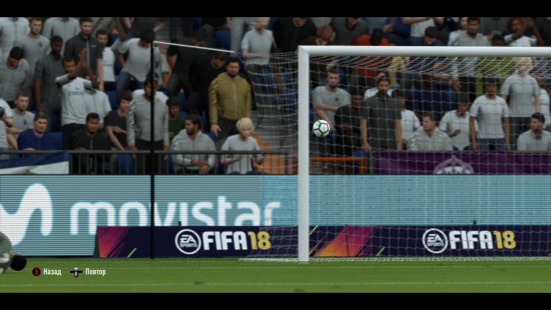 FIFA 18 Обзор матча Реал Мадрид Эспаньел