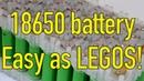 No Spot Welder or Soldering Battery Building Kit from