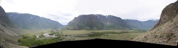 Панорама долины