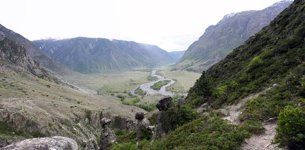 Долина Челушмана.