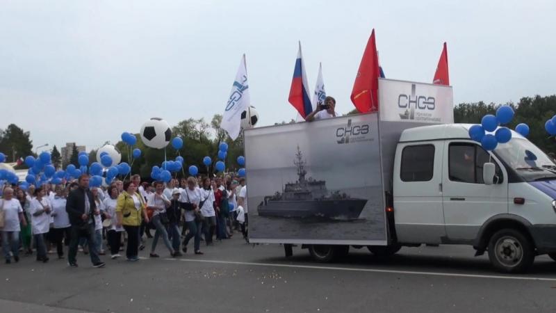 СНСЗ и Свеза Усть-Ижора на праздничном шествии в День города Колпино 01.09.18