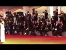 Сара Сампайо на красной дорожке премьеры фильма «Звезда родилась» в рамках Венецианского кинофестиваля (31/08/18)