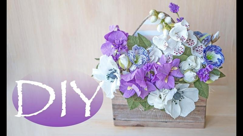 Необычный букет из бумаги - DIY Tsvoric - Unusual bouquet of paper