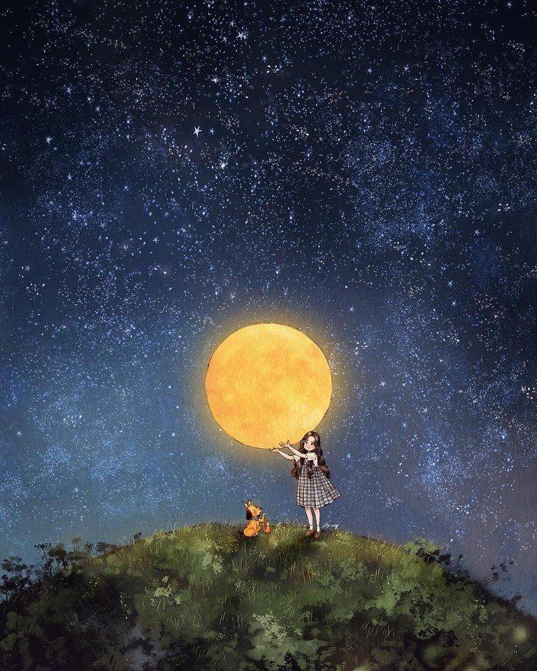 Звёздное небо и космос в картинках - Страница 4 AUjeVsDKgXY