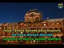 Mireille Mathieu La dernière valse English French Lyrics, Paroles, Translation